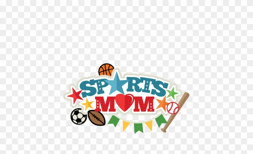 Sports Mom Title Svg Scrapbook Cut File Cute Clipart - Scalable Vector Graphics #88324