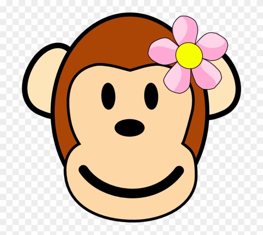 Showing Post & Media For Mother Monkey Cartoon - Girl Monkey Cartoon Face #88340