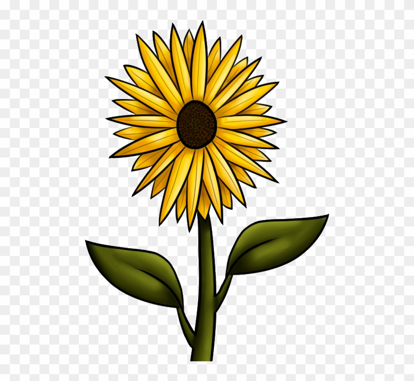 10 Best Images Of Fall Sunflower Clip Art - Fall Flower Drawings #88354