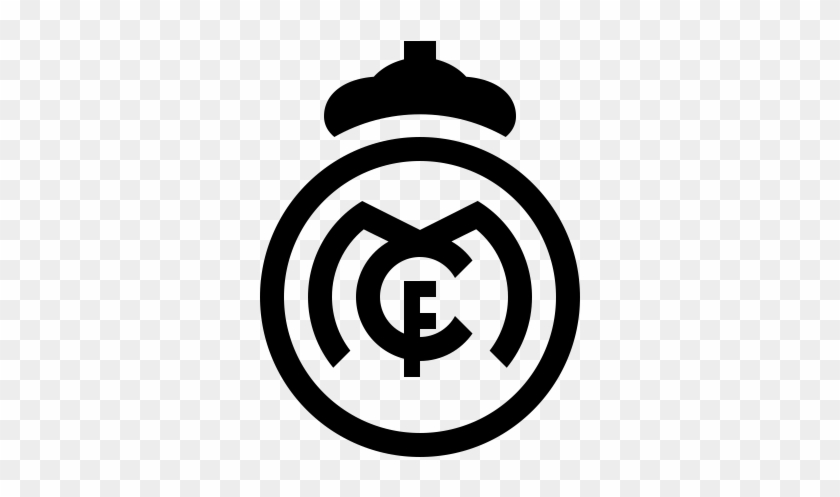 Real Madrid Icon Free - Real Madrid Logo Png #88387