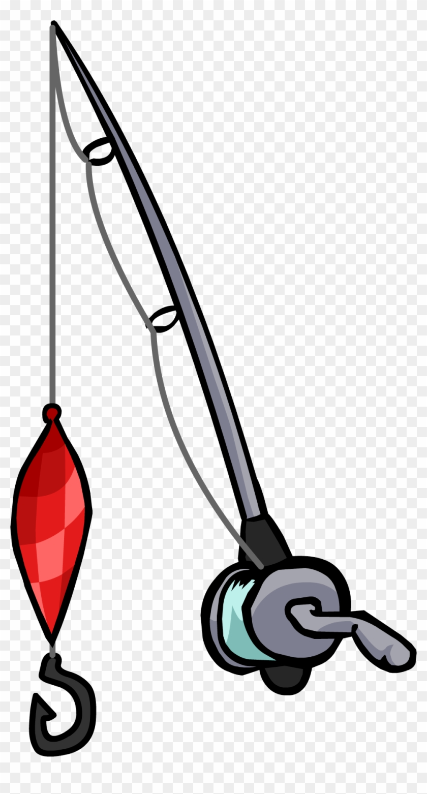 Fishing Rod Clipart Real - Imagenes De Caña De Pescar #88423