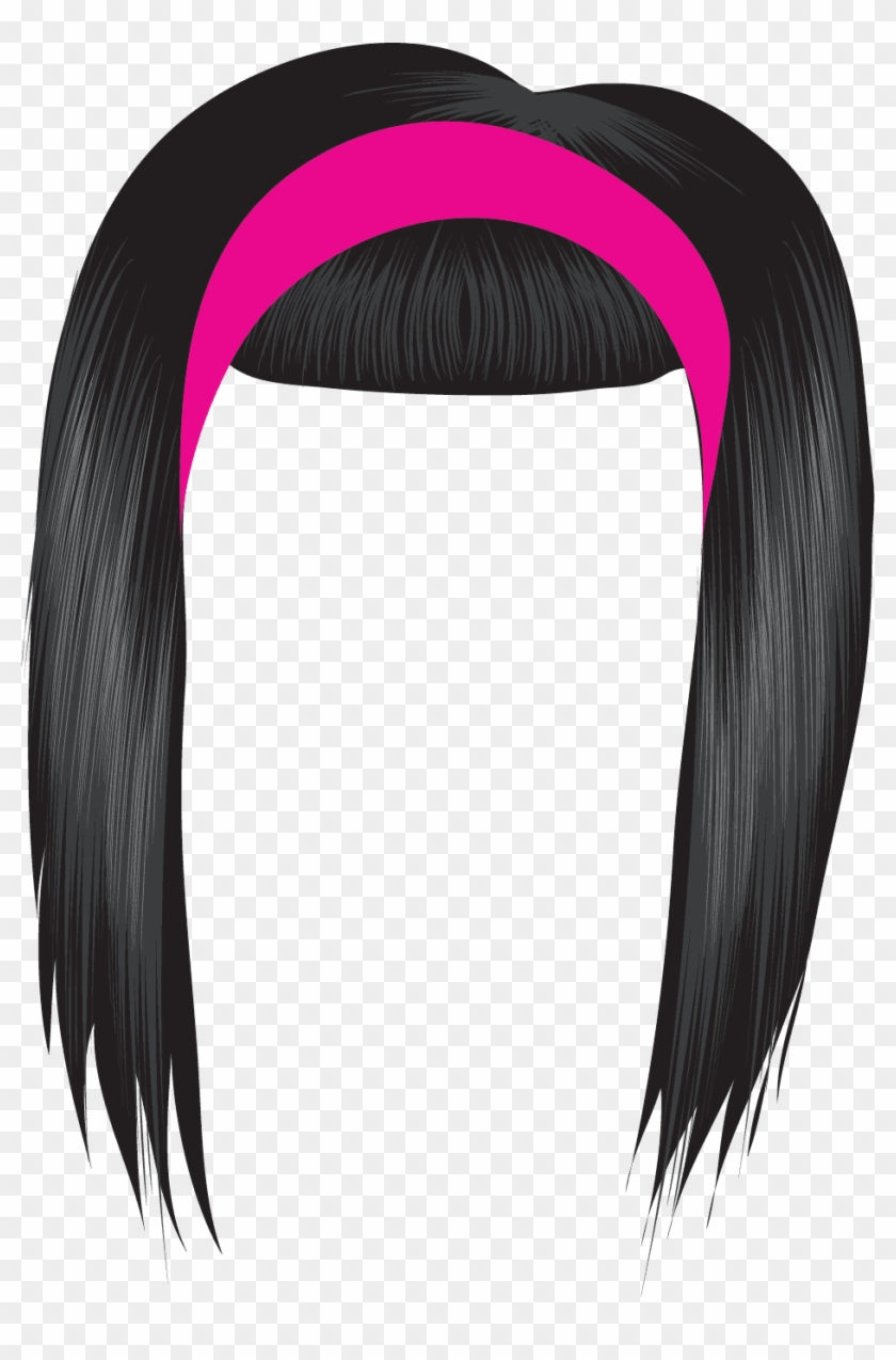 Black Hair Clipart Free Clipart Images Kkkugq Clipart - Transparent Hair Clip Art #88468