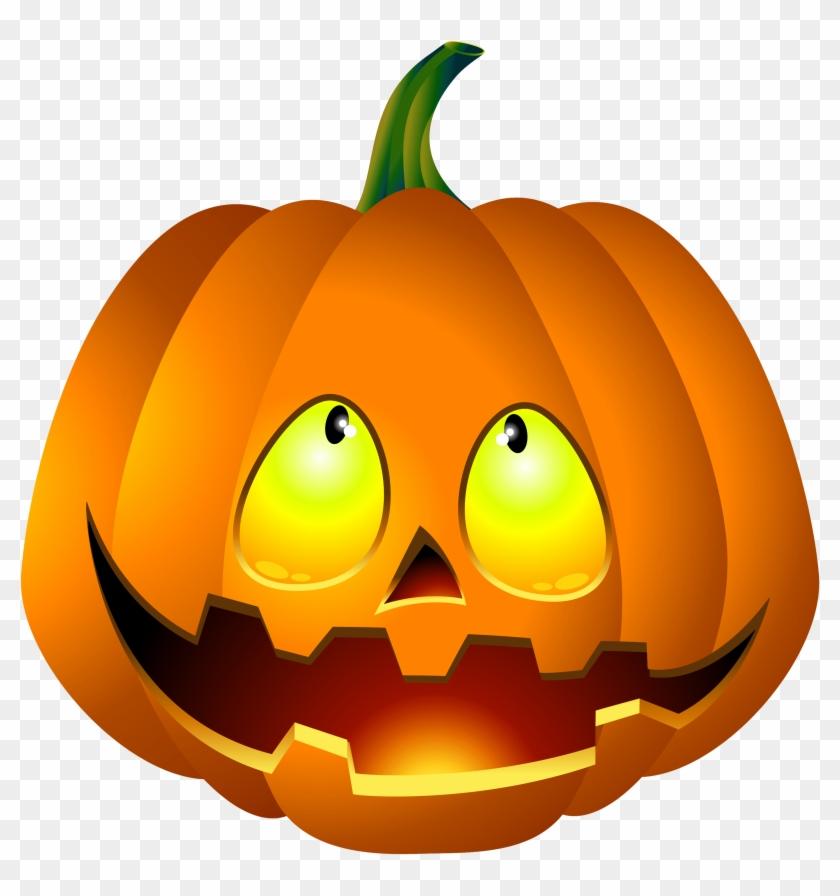 Free Halloween Pumpkin Clipart - Halloween Pumpkin Images Png #88472