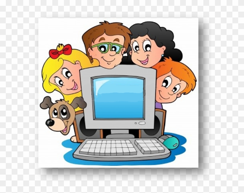 Computer Clipart Children's - Learning Computer For Smarter Life - Class 4 #88498
