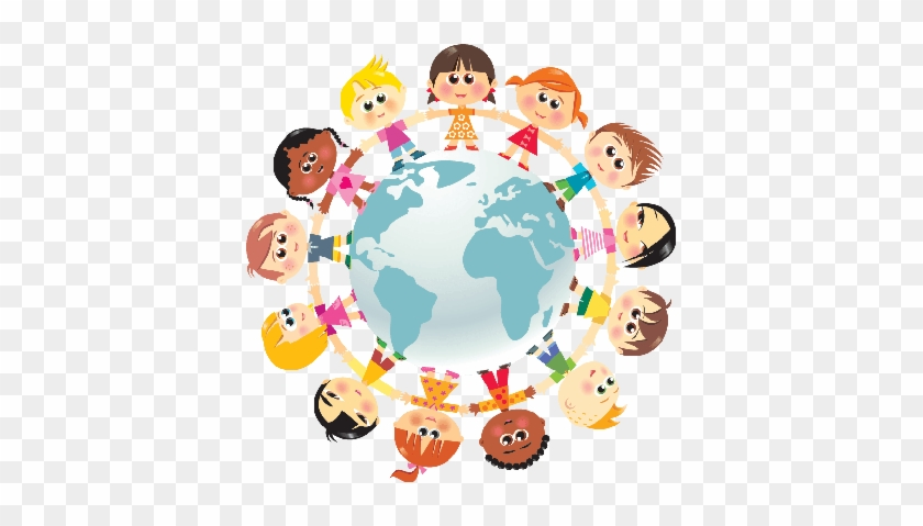 🌎international Day Of Peace❤️children In Unity Around - Unity Children #88507