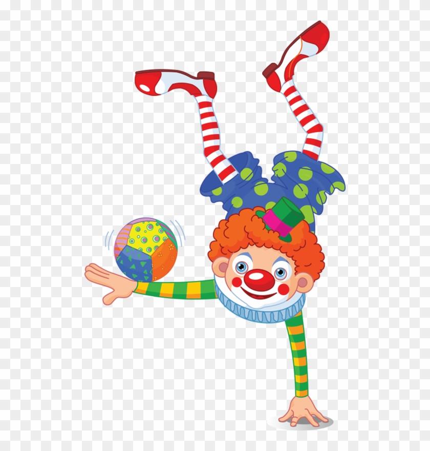 Clown Circus Royalty-free Clip Art - Clown Circus Royalty-free Clip Art #88542