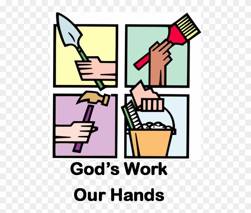 Church Work Day Icon Klamath Falls First United Methodist - Church Work Day Clip Art #88534