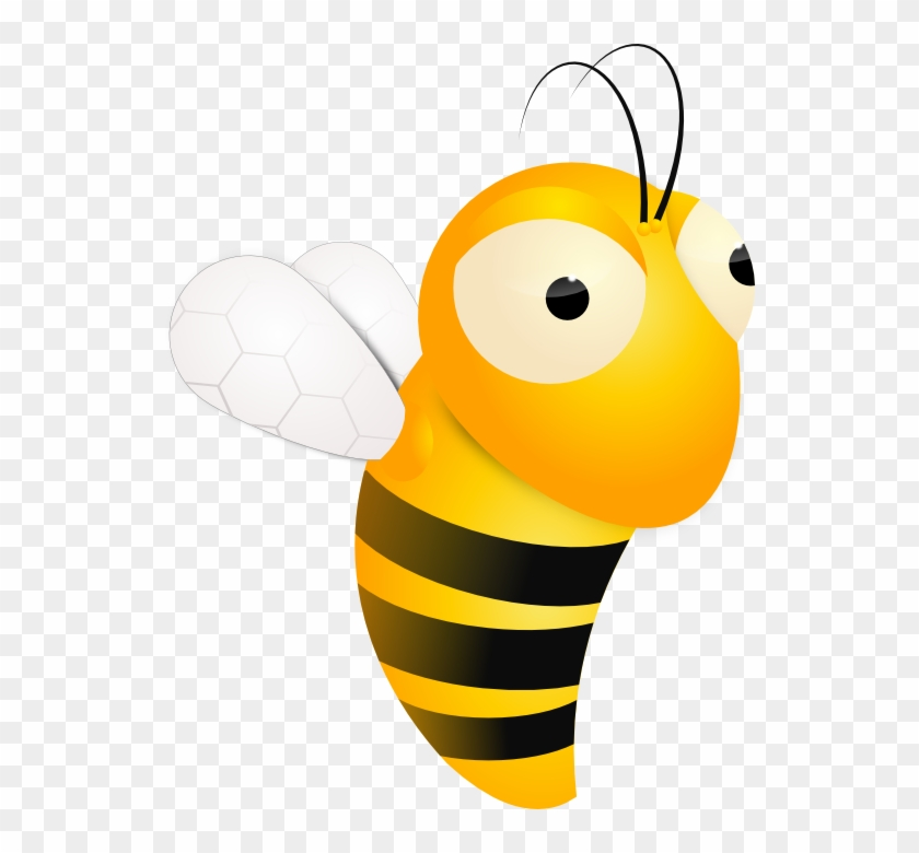 Honey Bee - Moving Honey Bee Animation #88540