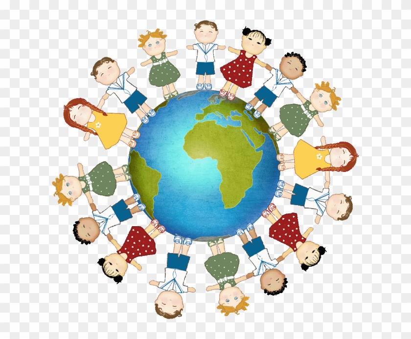 Global Children Clip Art And Project Ideas - Mundo Com Criança #88576
