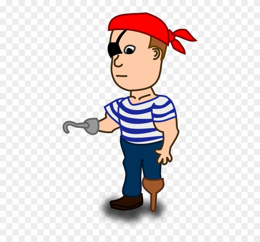 Cartoon Pirate - Pirate Clip Art #88581