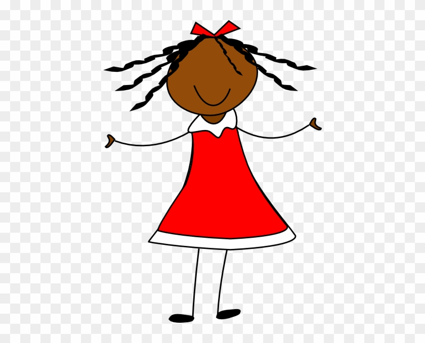 Red Dress Clipart Animation - Doll Clip Art #88591