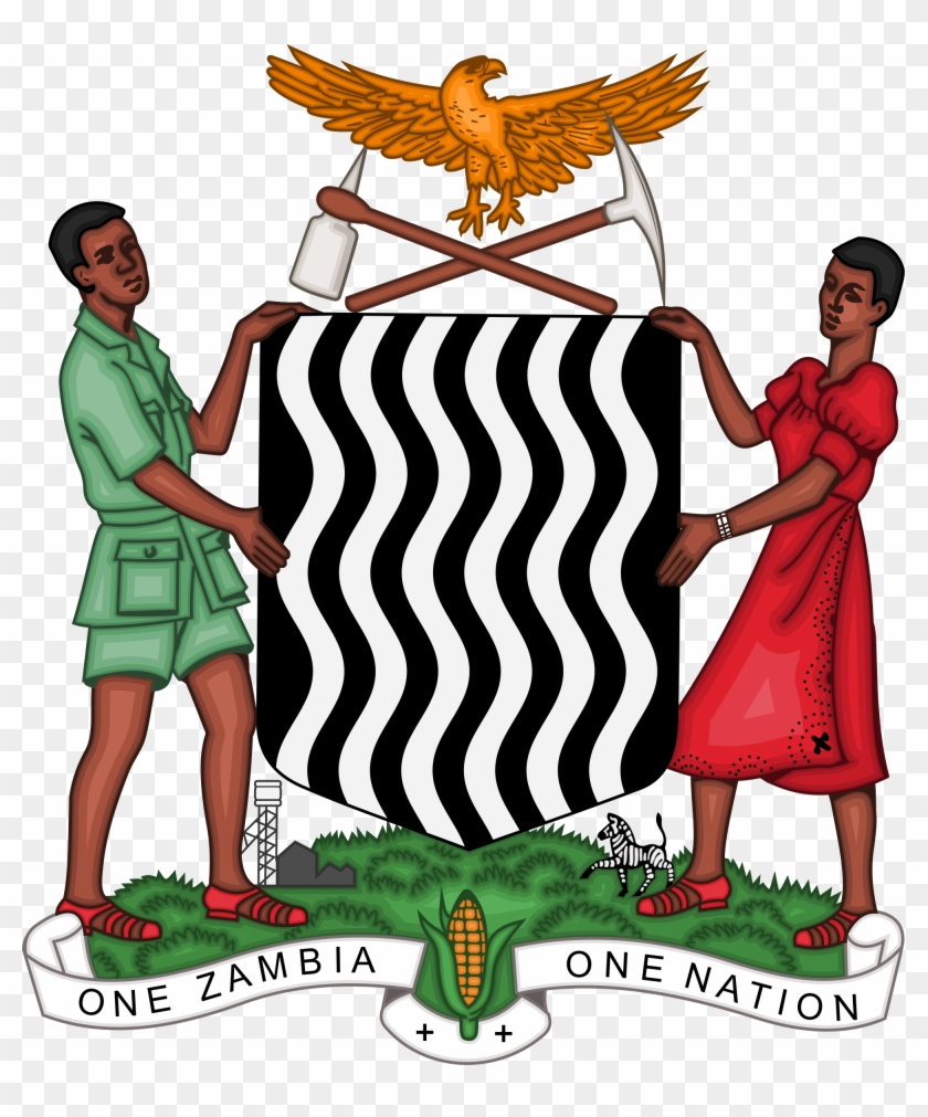 Coat Of Arms Zambia #88598