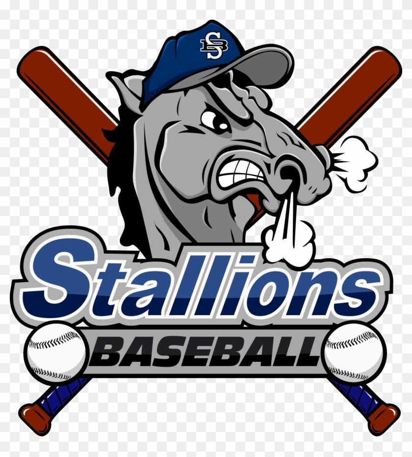 Stallion Baseball Logos #88623