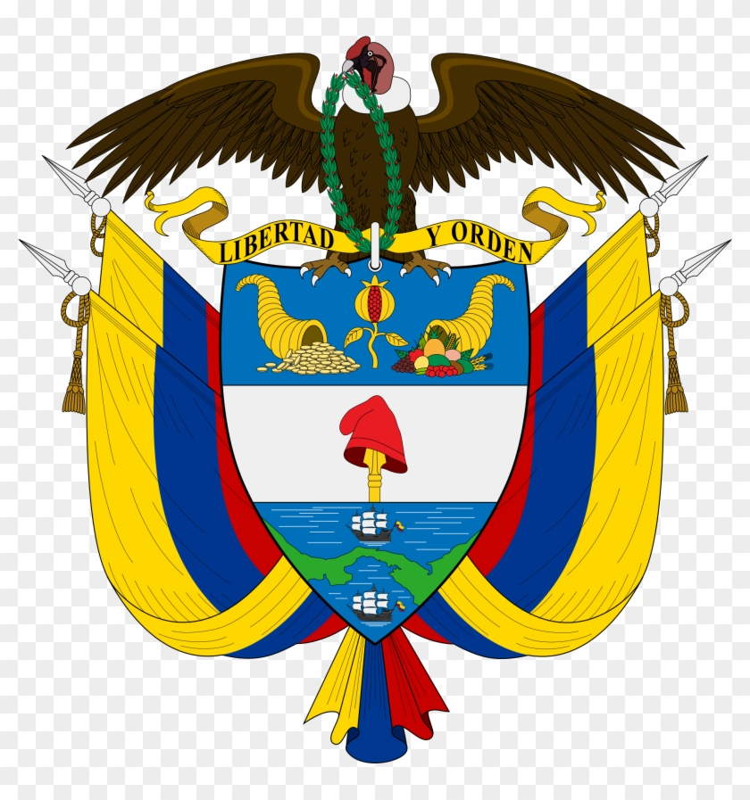 Colombia Coat Of Arms #88653