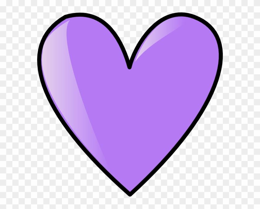 Perriwinkle Blue Heart Clip Art At Clker - Perri Winkle #88728
