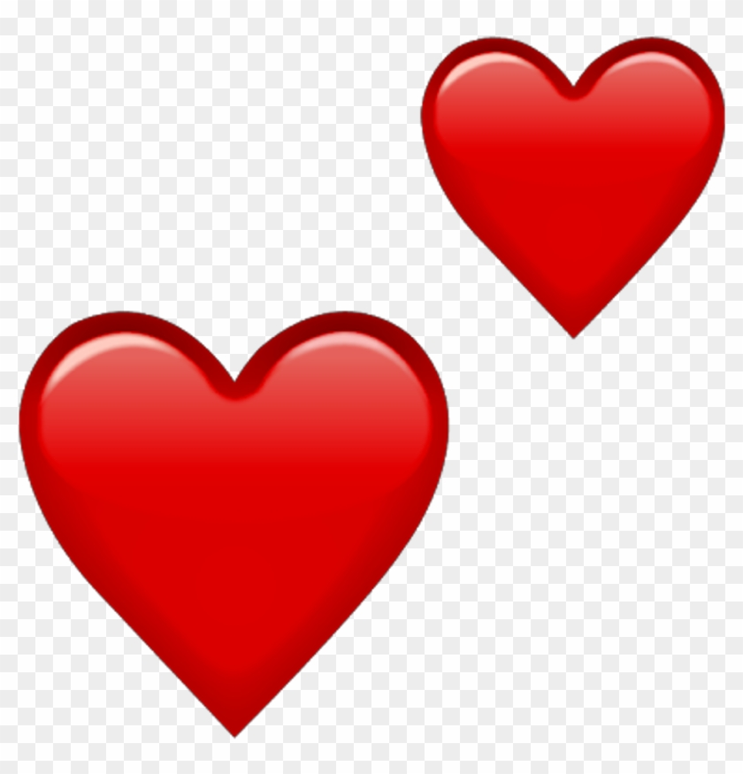 Red Heart Emoji Png #88810