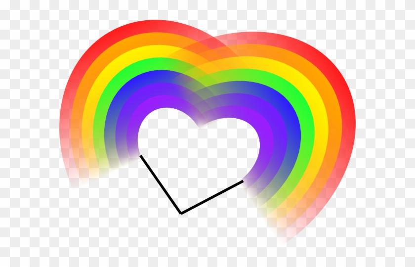 Rainbow Heart Clipart #88814