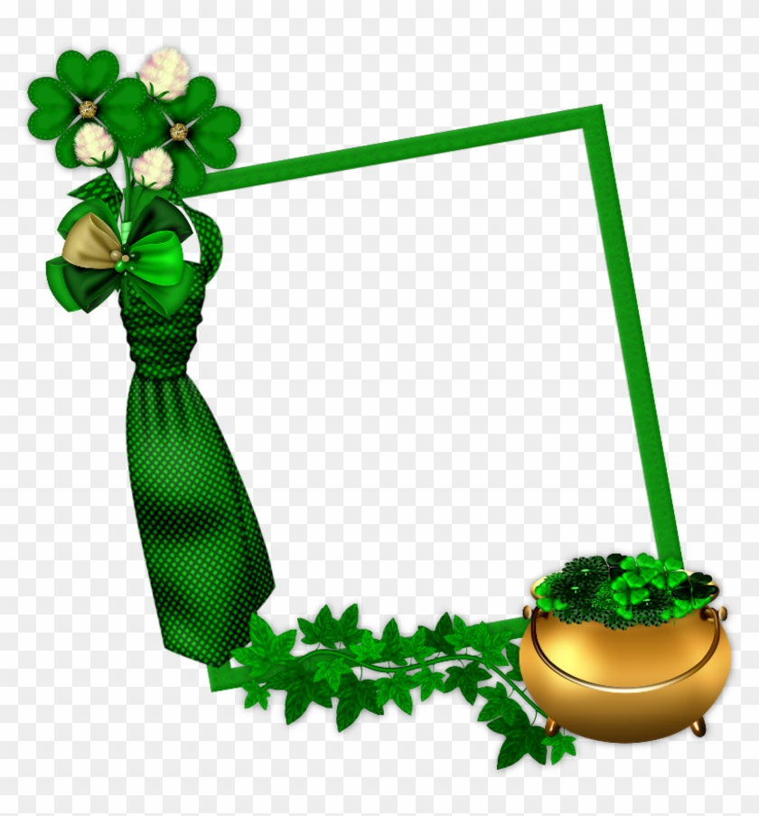 Cadre Saint Patricks Day Pictures Png Images - St Patricks Day Frame #88912