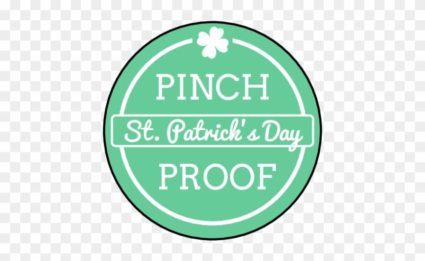 "Ol2088 - 1 - 5"" Circle - ""pinch Proof"" St - Patrick - Smp N 1 Sekayu #88930"
