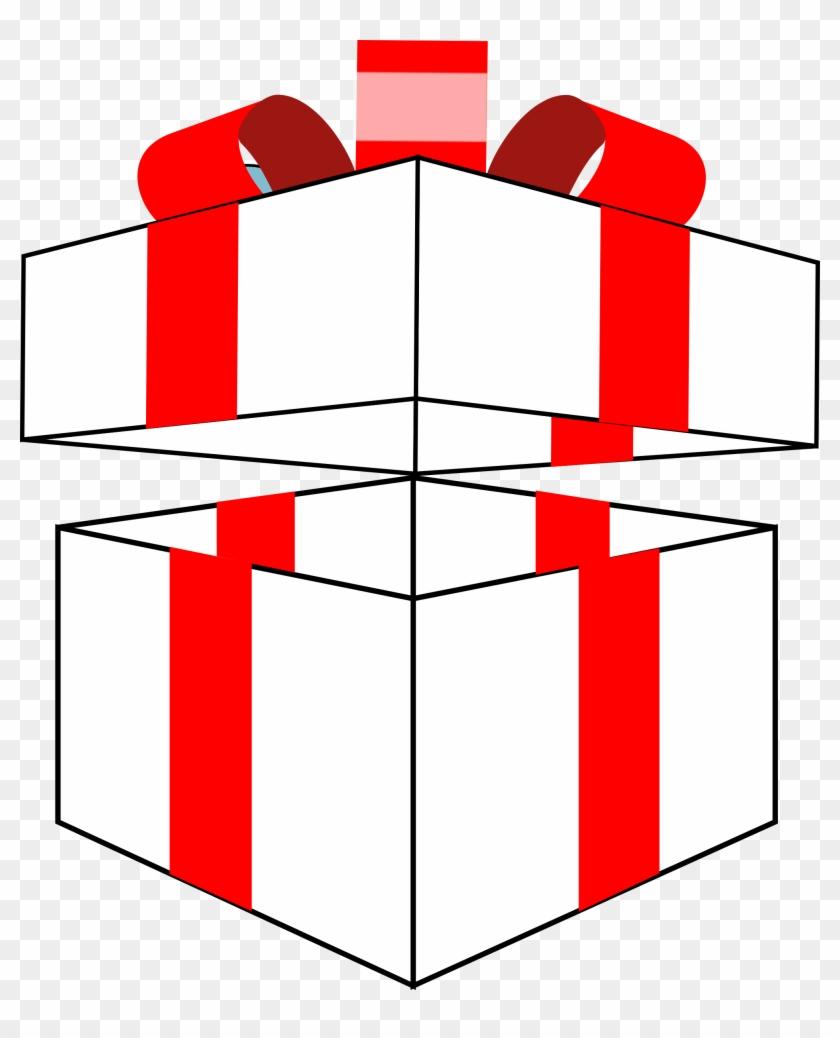 Big Image - Clip Art Gift Box #89002