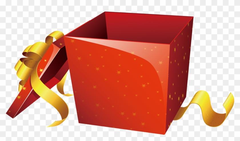 Gift Diwali Box Surprise Clip Art - Box Surprise Gift Png #89024