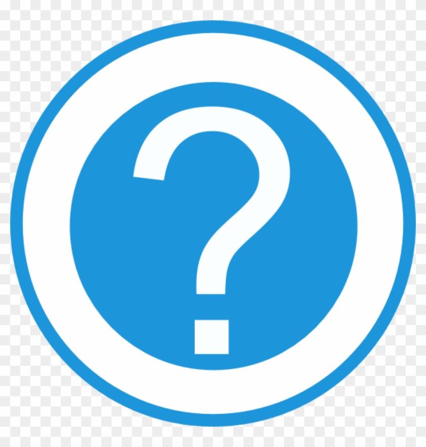 Question Mark Clipart Blue Question Mark Clip Art Free - Blue Question Mark Icon #89044