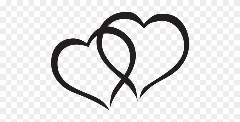Hearts Clipart Interlocked - Cute Hearts #89048