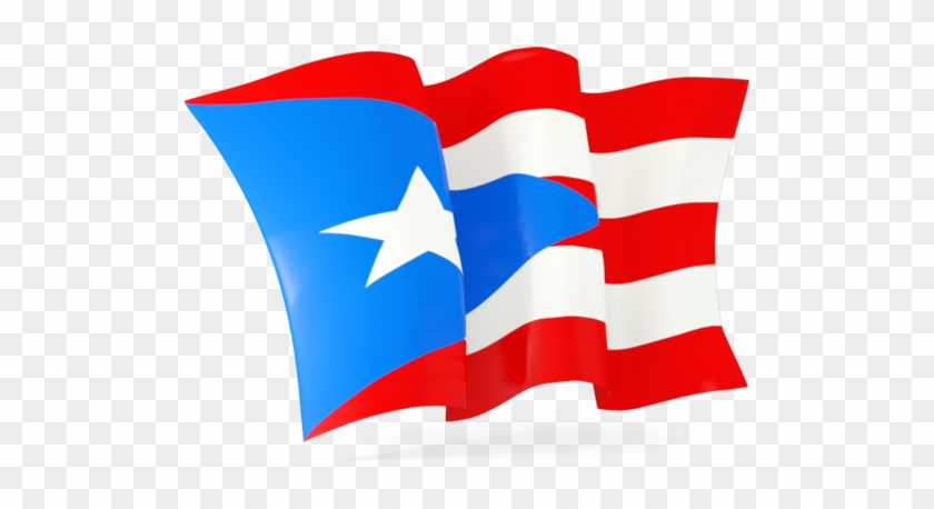 Waving Puerto Rican Flag #89183