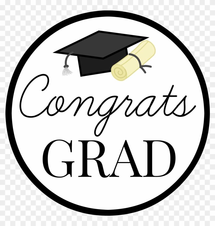 Graduation Gift Tags - Congrats Grad Png #89188