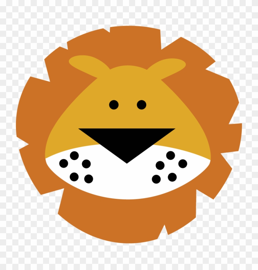 Lion King Clipart - Cute Lion Face Cartoon #89205