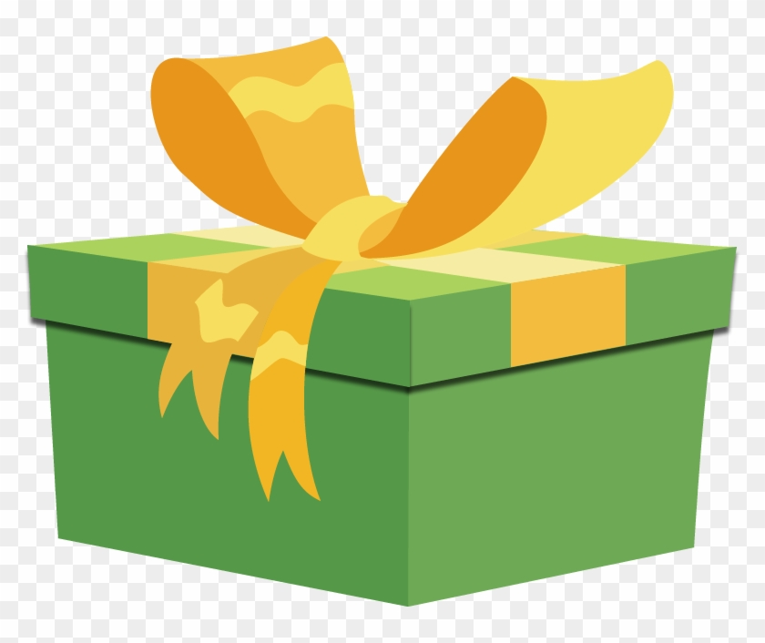 Gift Box By Ellittest On Clipart Library - Mlp Present Vector #89265