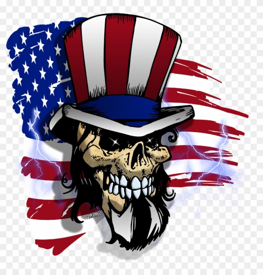American Skulls By Tyger-graphics - Skull #89273