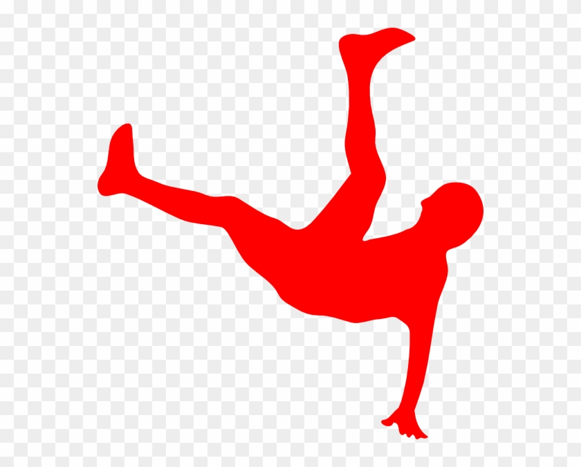 Red Man Falling Clip Art - Dancing Is Life Throw Blanket #89312