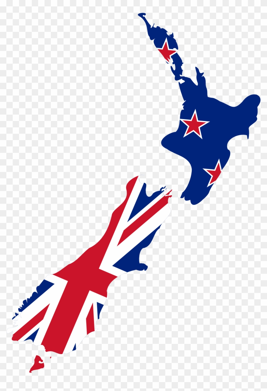 Bulls Cows Farm Animal Character - New Zealand Flag Country #89348