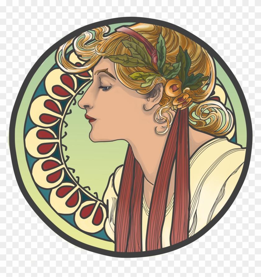It Is Interesting To Note That Art Nouveau Jewelry - Art Nouveau Art Movement #89430