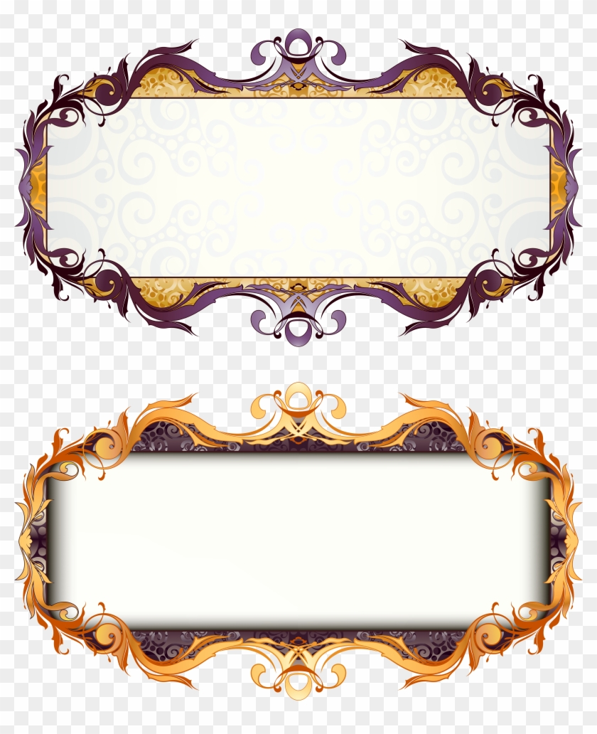Picture Frame Art Deco - Free Vintage Vector Borders #89440