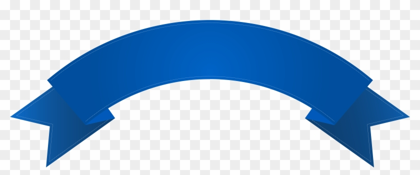 Deco Clip Art Png Image, Is Available For Free - Blue Banner Png Transparent #89468