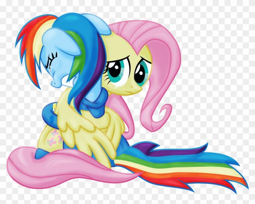 Eqd-atg Day - Fluttershy And Rainbow Dash Crying #89471