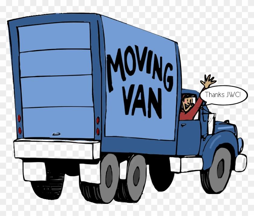Moving Truck Clip Art #89546