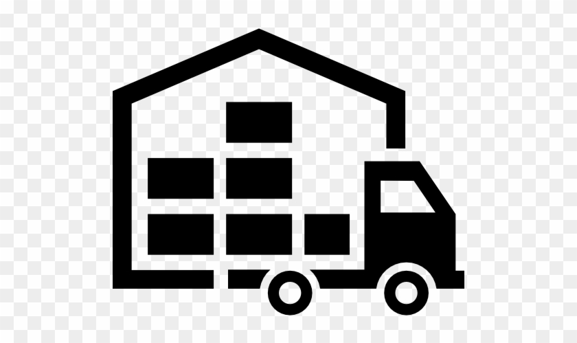 Moving Services - Distribution Center Icon #89548