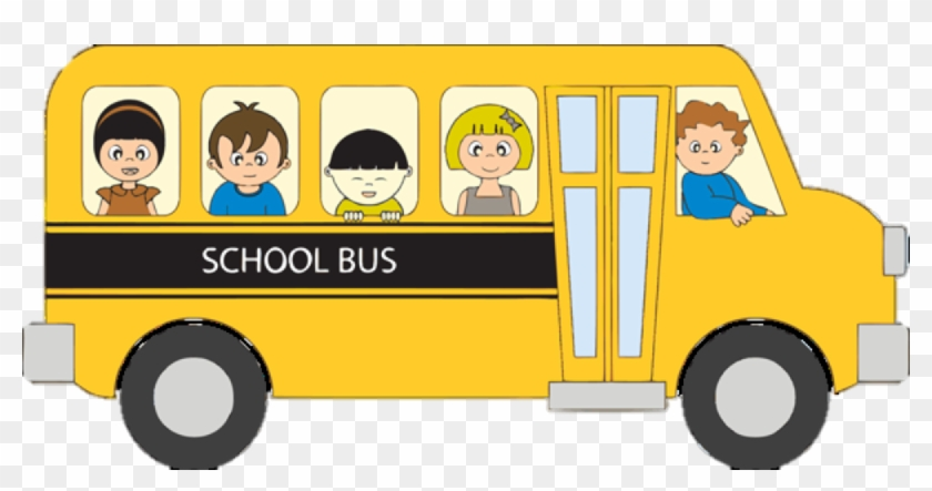 School Van Clipart Clipartxtras - Kids In The Bus Clipart #89559