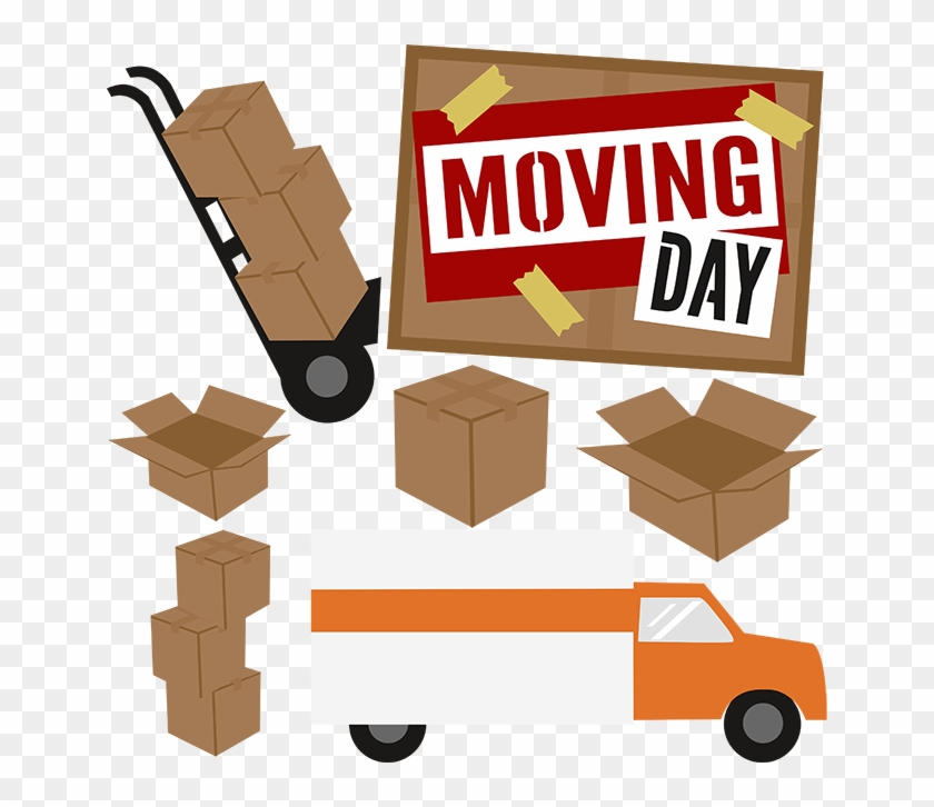 Moving Day Is Set, June - Moving Day Clip Art #89580
