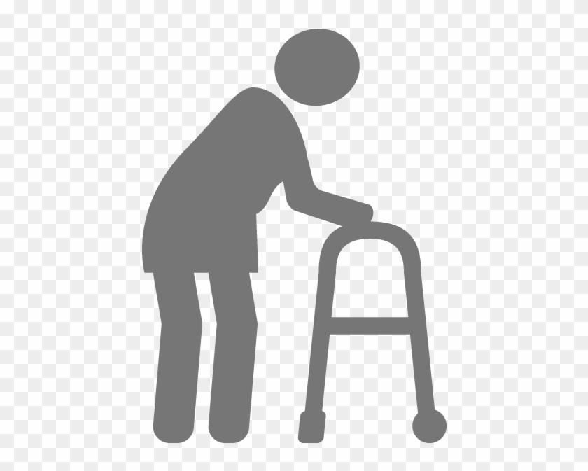 Senior Moving - Senior Icon #89608