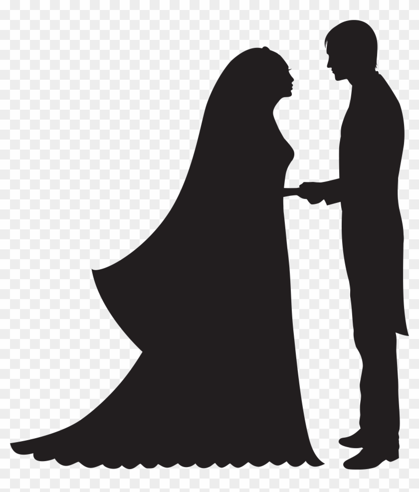 Bride And Groom Png Clip Art - Bride And Groom Png Clip Art #89637