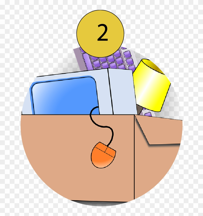 Packing To Move - Moving Clip Art #89655