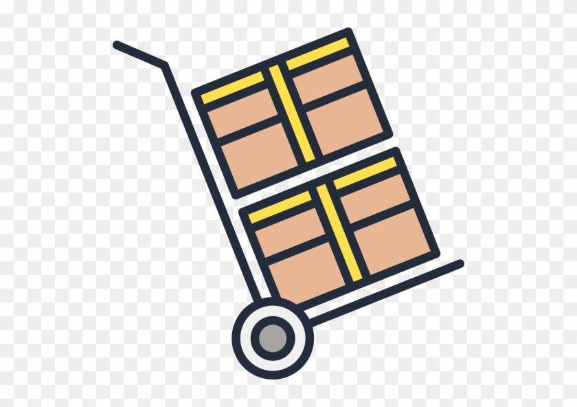 Secure Storage And Truck Rental Icon - Icon #89672