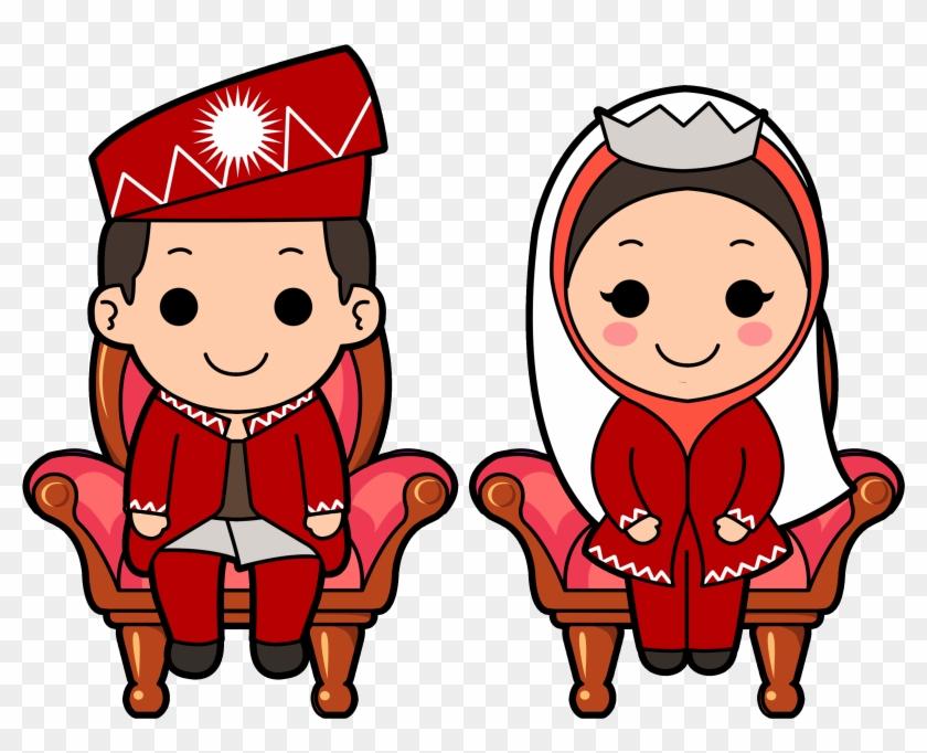 Islamic Wedding Clipart - Islamic Wedding Clipart #89696