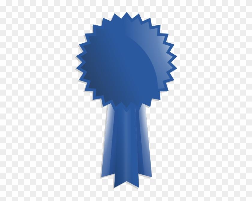 Blue Ribbon Award Clip Art - Award Ribbon Clipart Transparent #89694