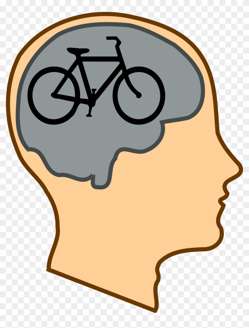Mind Clipart Healthy Mind - Bicycle For The Mind #89722