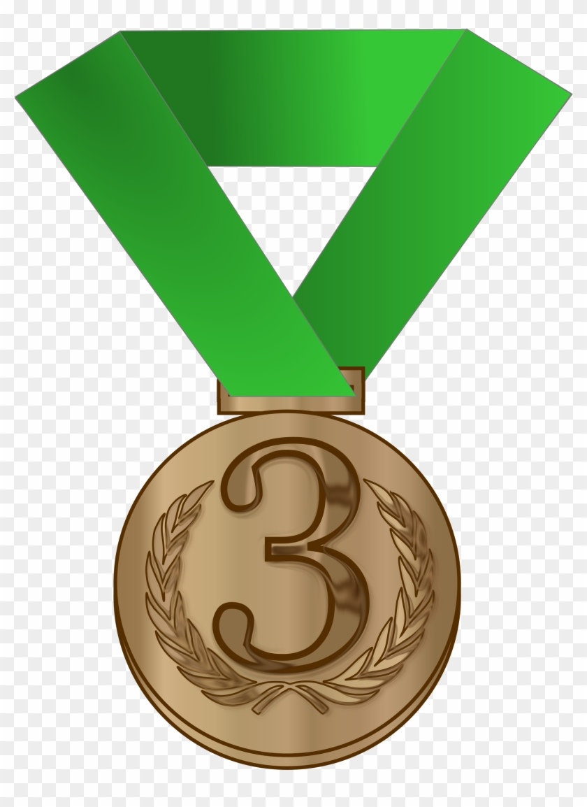Bronze Medal / Award - Bronze Medal Clipart #89728